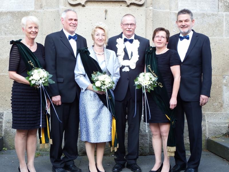 Königspaar Michael und Angelika Beumer